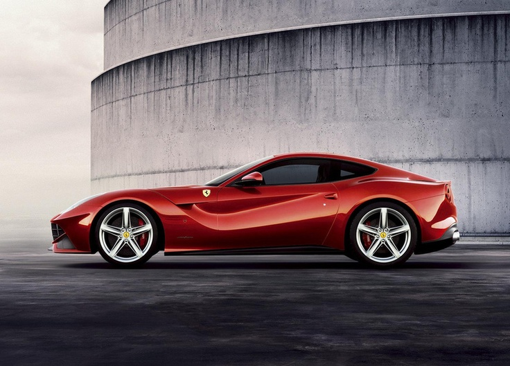 gorgeous lines.  the new Ferrari F12