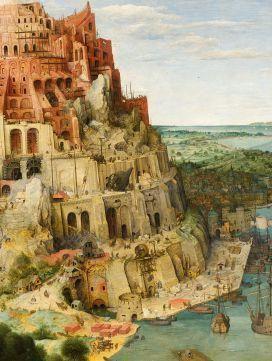 описание картины вавилонская башня