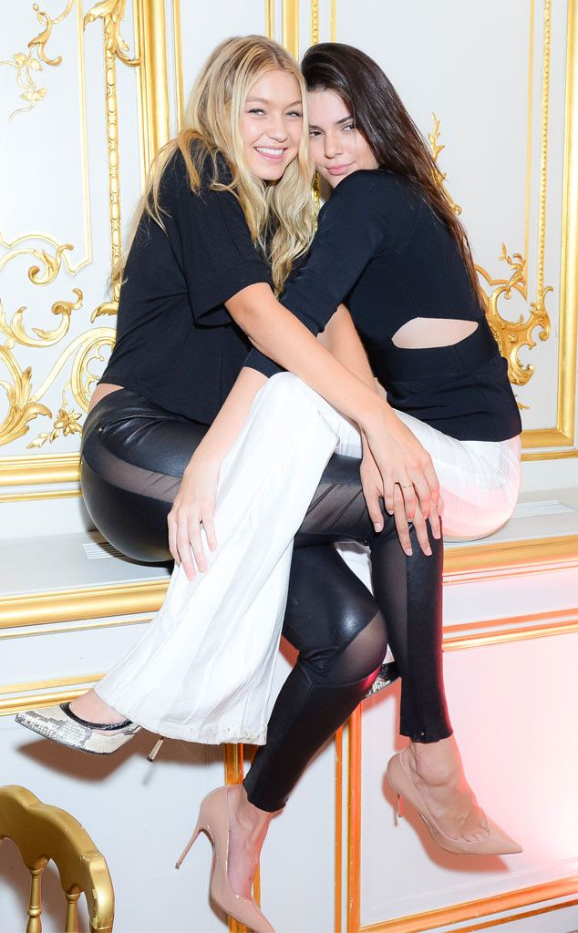 Gigi Hadid & Kendall Jenner from The Big Picture: Today's Hot Photos