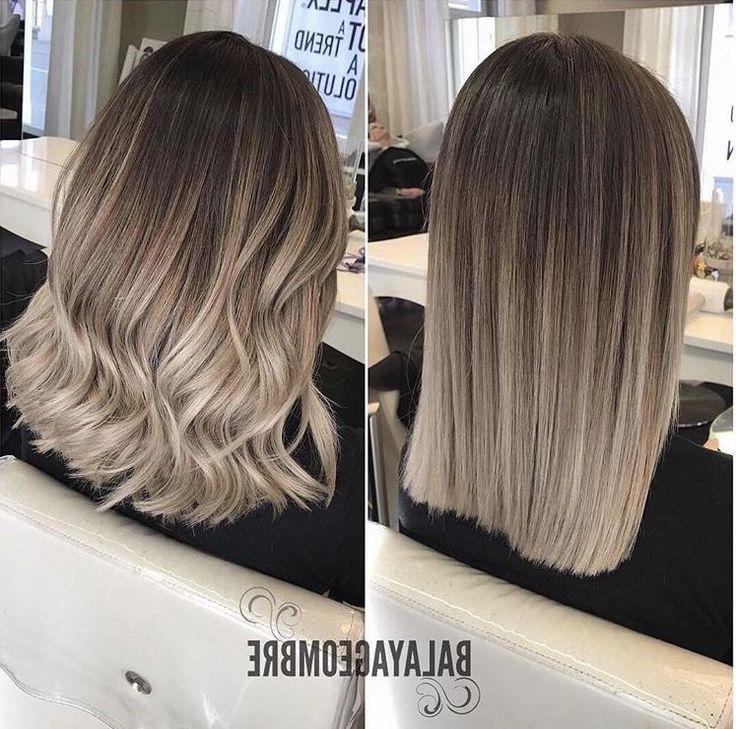 Frisuren 2018 Hairstyles Frisuren Bob Frisur Balayage