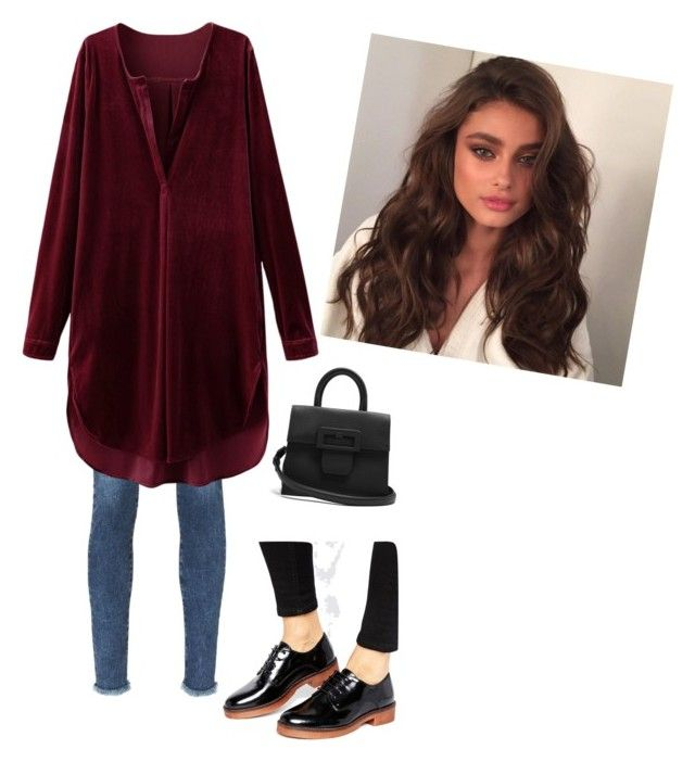 """look día invierno"" by wisacb on Polyvore featuring AG Adriano Goldschmied, MANGO, Maison Margiela and Victoria's Secret"