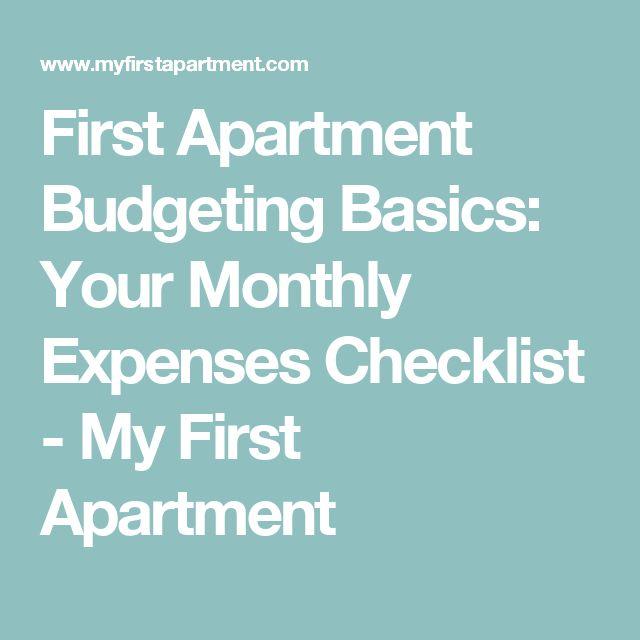 First Apartment Tips: Más De 25 Ideas Increíbles Sobre Lista De Verificación