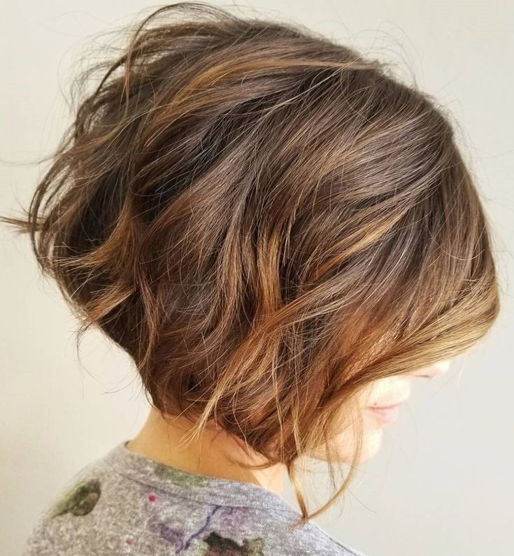 Jaw-Length Tousled Bob