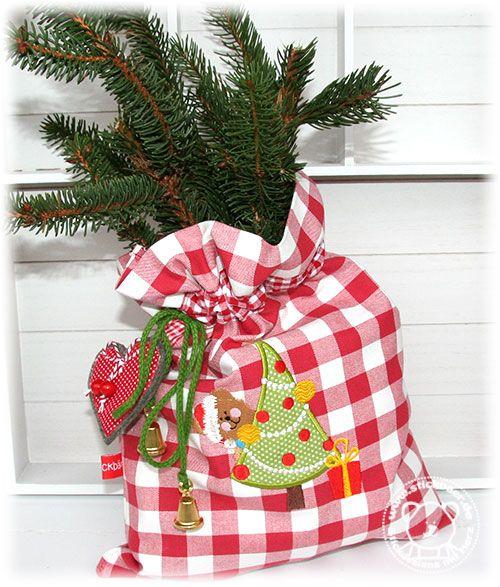 2. Adventsfreebie vom Stickbär Unser Weihnachtsbaer