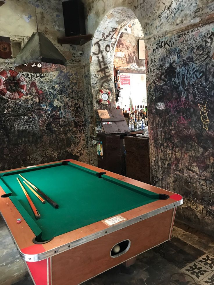 Random bar in Old San Juan PR http://imgur.com/wagnnAP