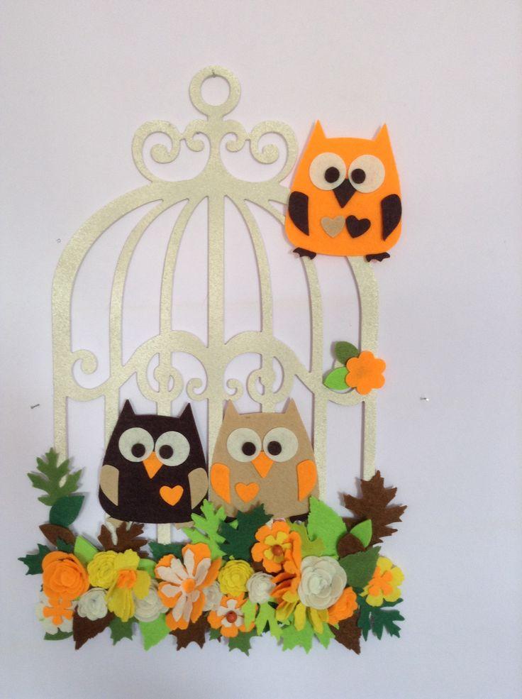 Door decor, owl