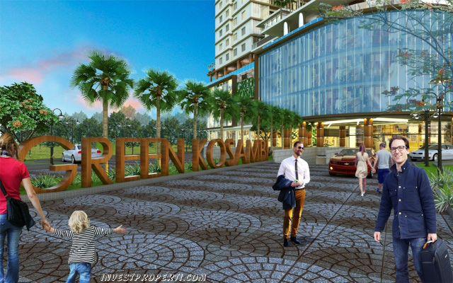 Green Kosambi Bandung entrance