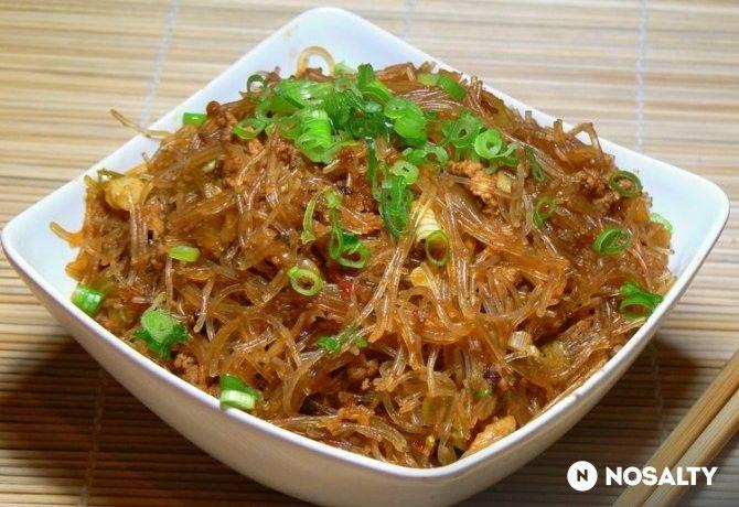 Hangyák a fán - szecsuáni csípős sült tészta