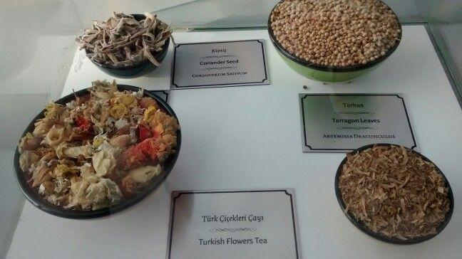Turkish spices.