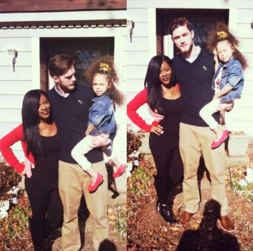 Beautiful Interracial Family Love Wmbw Bwwm -9133