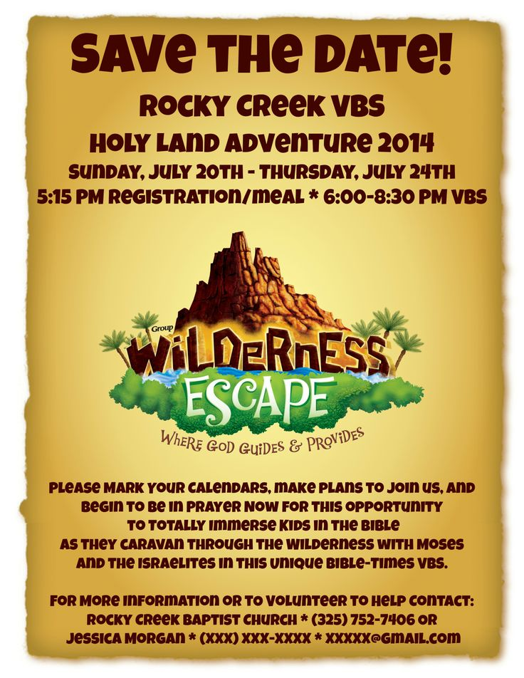 68 Best Images About VBS 2014 Wilderness Escape Moses On