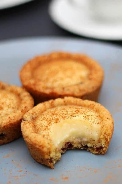 Quick Milk Tart Cookie Cups! Adding this to the list of treats I should try one day.