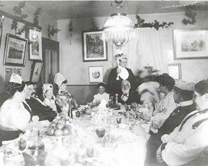 Christmas at the Helmcken House 1902