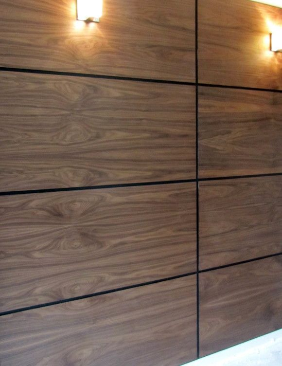 Plywood Veneer Panel Feature Walls Google Search Modern Wall