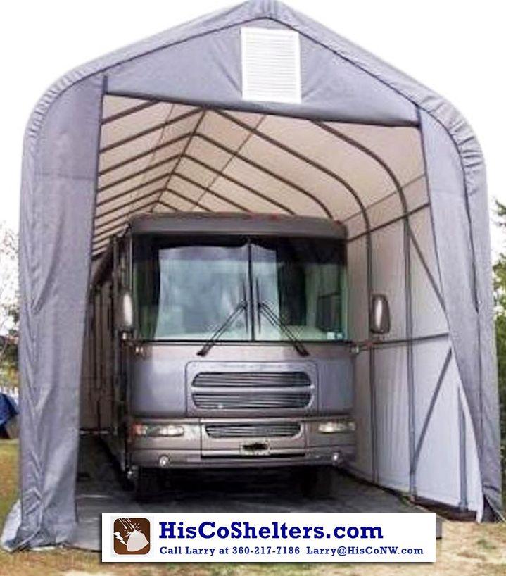 18 best shelterlogic portable garages images on pinterest for Portable rv garage