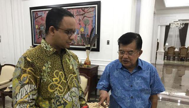 Dunia Berita  -  Wakil Presiden Jusuf Kalla menegaskan tak ada mahar politik yang diminta Ketua Umum Partai Gerindra Prabowo Subianto s...