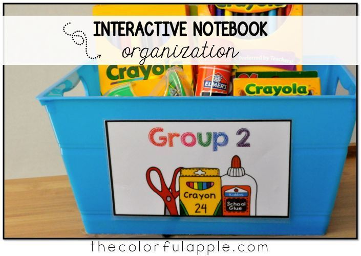 Interactive notebooks can be used for math, science, social studies and more!  Keeping your students and their notebooks organized can be a challenge, though.  Here's a genius solution!