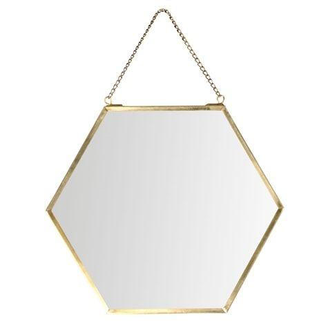 Spegel SHAPES hexagon - Lagerhaus.se