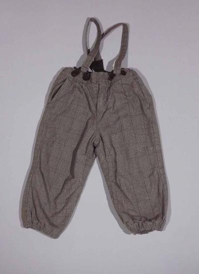 Pantalón cuadros con tirantes | Tiruleta