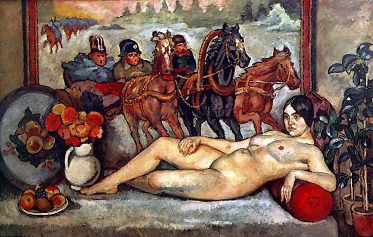 Илья Машков «Русская Венера» 1914 г. Холст, масло.