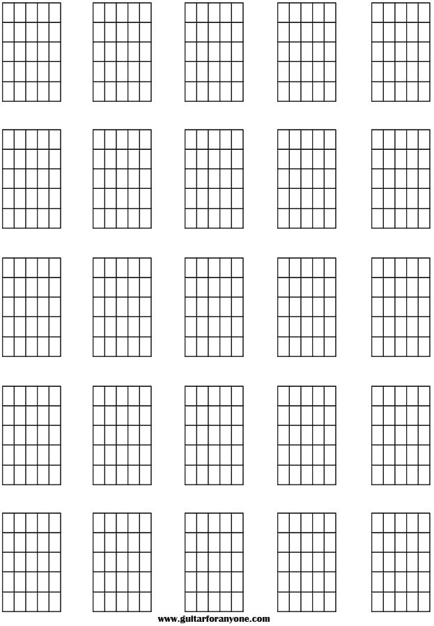 guitar Chord Names And Symbols | Blank Chord | Learn ...