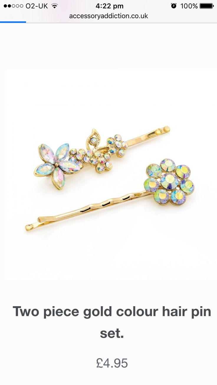 ✨Crystal hair slides/pins✨ Just been added on the website for that special bling!!  Visit online - www.accessoryaddiction.co.uk (No minimum order) plus 10% off