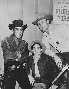 "The Rifleman is an American Western television program.The show was filmed in black-and-white with a half hour running time. ""The Rifleman"" aired on ABC from September 30, 1958 to April 8, 1963 as a production of Four Star Television."