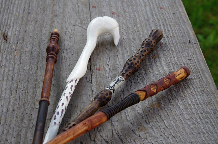 George Weasley handmade wooden replica wand by Kwerkies on Etsy