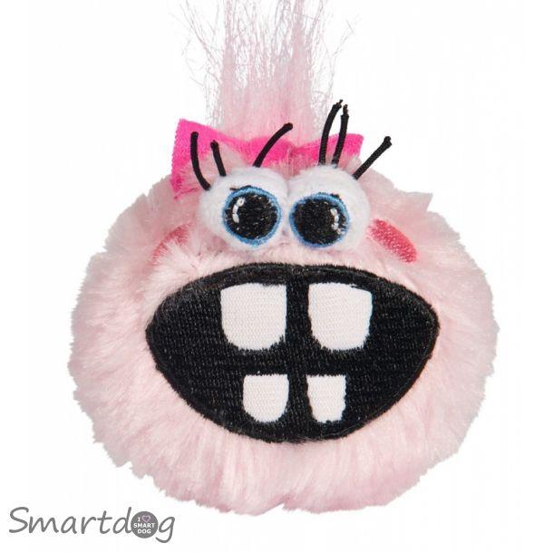 Rogz Pupz Fluffy Grinz Hvalpebamse - Pink