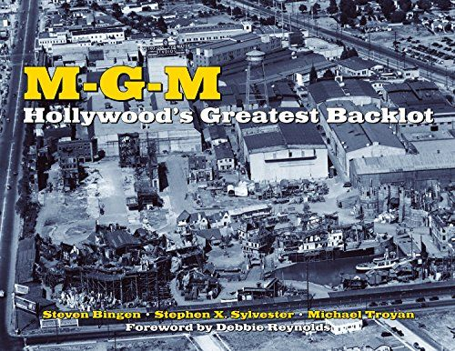 MGM: Hollywood's Greatest Backlot:   divIM-G-M: Hollywood's Greatest Backlot/I is the illustrated history of the soundstages and outdoor sets where Metro-Goldwyn-Mayer produced many of the world's most famous films. During its Golden Age, the studio employed the likes of Garbo, Astaire, and Gable, and produced innumerable iconic pieces of cinema such as IThe Wizard of Oz, Singin' in the Rain/I, and IBen-Hur/I.BRBRIt is estimated that a fifth of all films made in the United States prior...