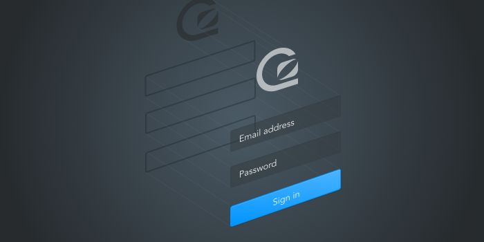 Designing the new GoSquared login screen
