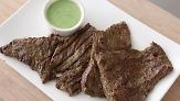 Watch Everyday Food editor Sarah Carey cook with two of her favorites: cilantro and skirt steak. The tangy marinade in this dish also doubles as a dipping sauce.