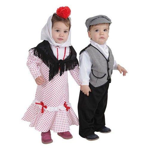 Disfraz Chulapo Coral T-S Bebe (1 a 2 años)