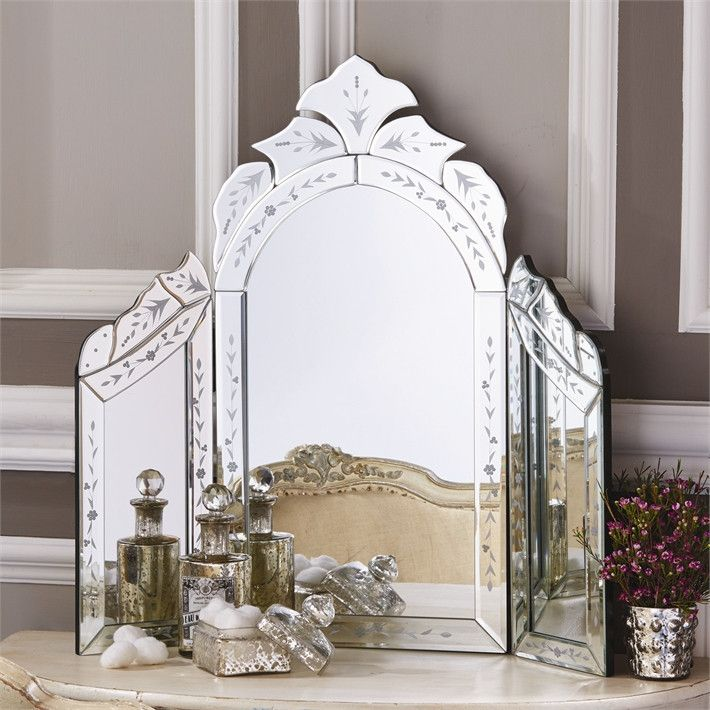 Two S Company Venetian Style Dressing Table Mirror