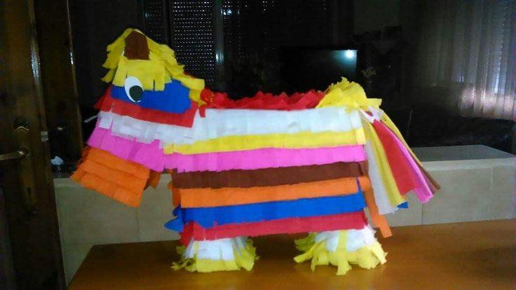 πινιάτα piñata piniata γενέθλια birthday party μεξικάνικο γαϊδουράκι