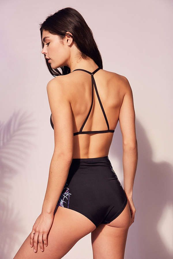 Slide View: 5: Out From Under Triangle Racerback Bikini Top