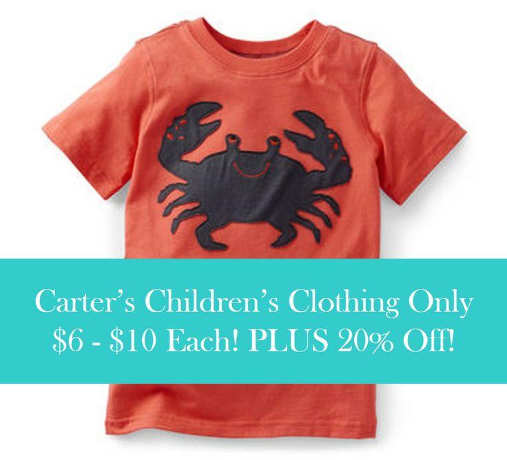 Carter's Children's Clothing Starting At $6 + 20% Off!, http://www.savingeveryday.net/?p=97830
