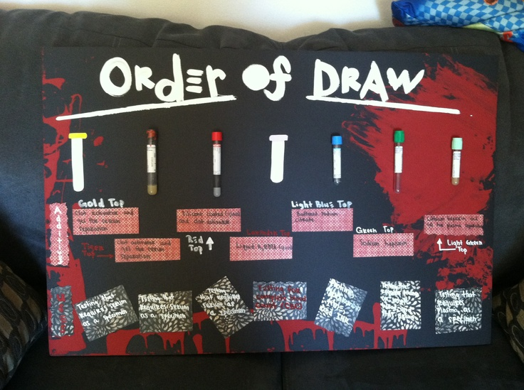 Project For A Phlebotomy Presentation Blood Spatter