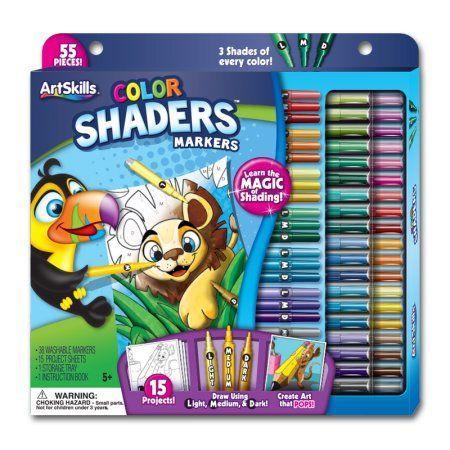 Artskills Clr Shading Marker Set