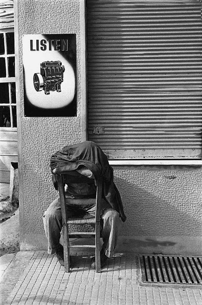 Μεσημεριανή ξεκούραση-Κρήτη 1955