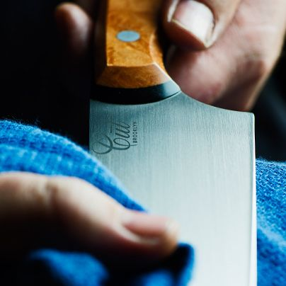 Learn how to take care of your knife from Joel Bukiewicz of Cut Brooklyn.