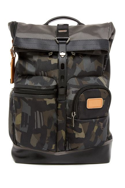 Image of Tumi Luke Roll-Top Backpack