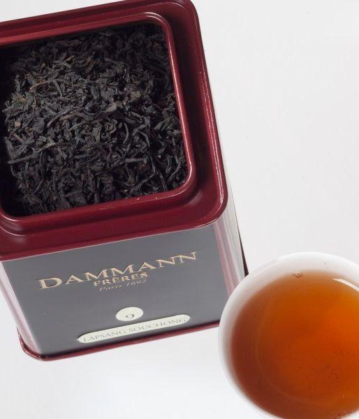 Boîte de thé Lapsang souchong Dammann