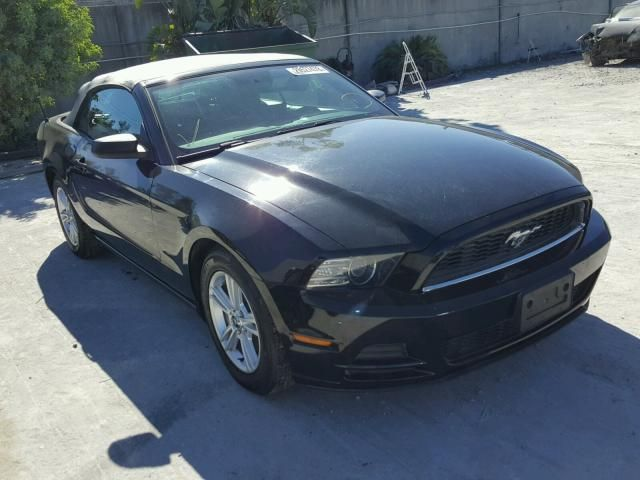 Salvage 2014 Ford Mustang Convertible For Sale Certificate Of