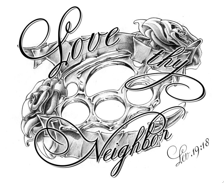 Family Love Tattoos | Love Thy Neighbor Fin By Whoiscid Designs Interfaces Tattoo Design ... Ty my son likes this