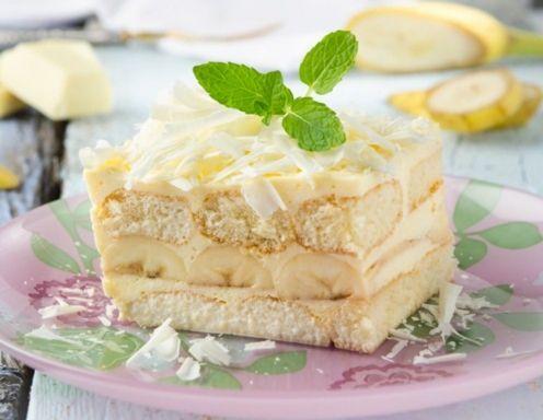 Bananen-Kokos-Tiramisu Rezept