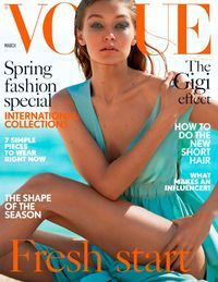 March 01, 2017 issue of British Vogue. Available at WCL via Zinio!