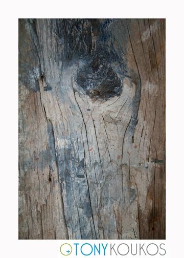 wood, rough, woodgrain, paint, vertical lines, dodecanese islands, greece, Tony Koukos, Koukos