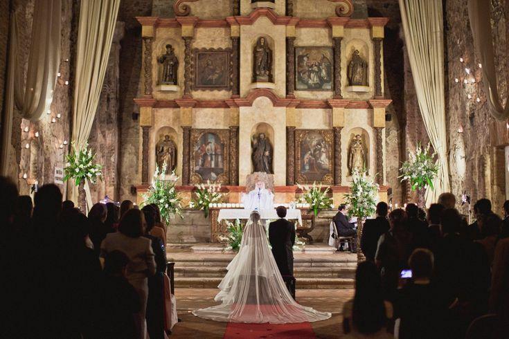 Antigua, Guatemala destination wedding •Location: Hotel Santo Domingo