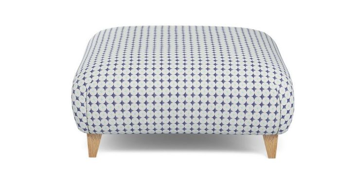 Angelic Pattern Large Footstool Angelic Pattern | DFS